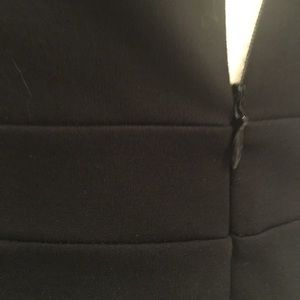 LOFT Dresses - Laser-cut, ponte sleeveless a-line jumper dress!